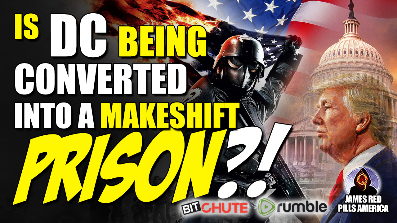 Umm, Wow! Is DC Being Converted Into a Make-Shift Prison?! Must See! Draining The Swamp Before Our Very Eyes!